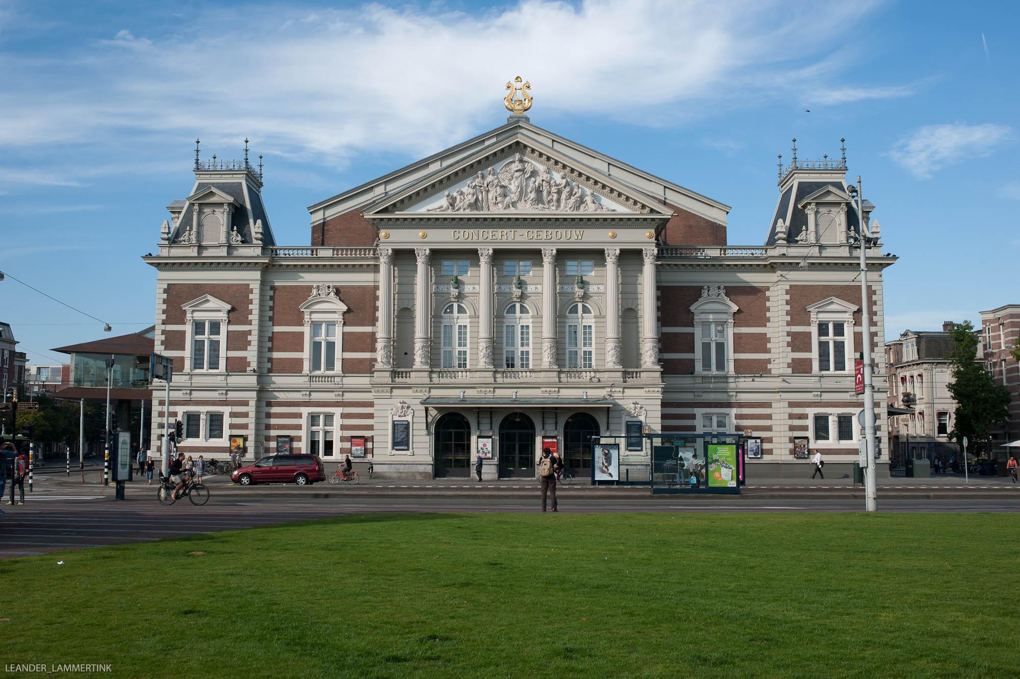 Het Concertgebouw (Foto: Leander Lammertink)