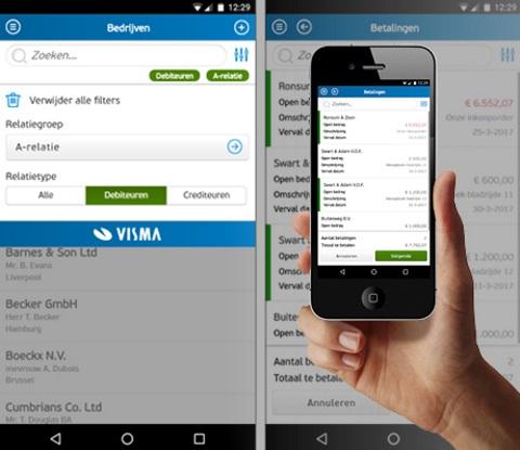 AccountView Contact app verbeterd