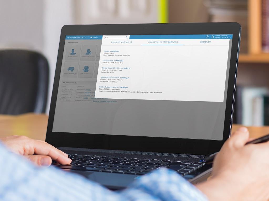 Erp-cloudsoftware Visma.net verbeterd