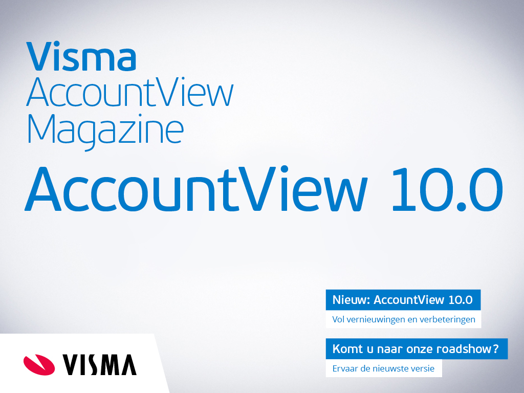 Cover Visma AccountView Magazine
