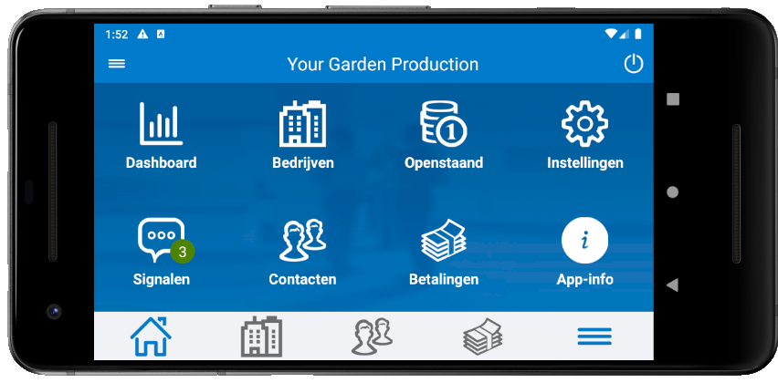 Vernieuwde versie AccountView Contact app