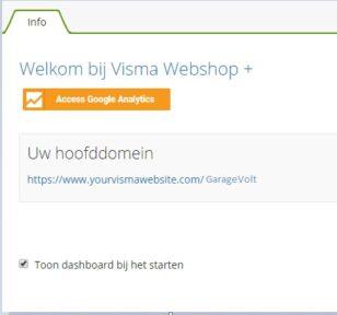 Visma Webshop