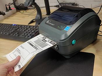 Verzendlabels van verschillende vervoerders printen vanuit één systeem