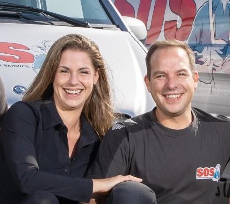 Nicole van Nieuwendijk en Jeffrey Springer