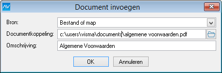 Document invoegen